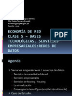Clase 5 - ER-Bases Tecnológicas Servicios Empresariales