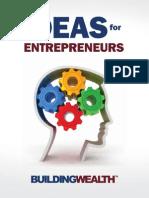 Building Wealth Ideas for Entrepreneurs