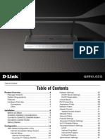 D Link DIR 615 Manual