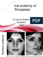 Rhinoplasty Anatomy