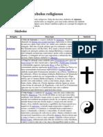 Lista de símbolos religiosos