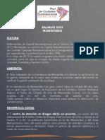 Balance de Gobierno 2013 - Intendencia de Montevideo