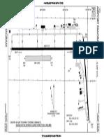 Diagram of Elkhart Municipal Airport