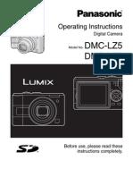 Camera Digital - Manual Panasonic Lumix Dmc-lz5 e Dmc-lz3