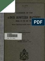 (1917) Handbook of the 6-Inch Howitzer
