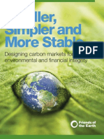 Friends of the Earth - Carbon Markets Report