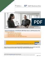 Instalación y Actualización de MS SQL Server y SBO 2007