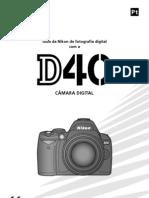 Camera Digital Nikon Pt Camera d40