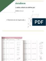 2.- Direcciones y Planos Cristalinos