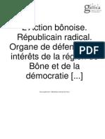 L'Action bônoise  1909-11-11
