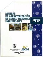 Manual de Caracterizacion de Aguas Residuales