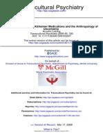 Alzheimer y Antropologia de La Incertidumbre