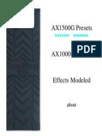 AX1500G-AX1000G Preset Details