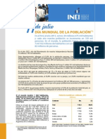 INEI Estado Poblacion Peruana 2013