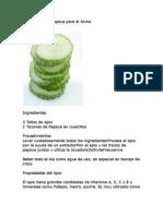 Beneficios Jugo de Papaya + Apio