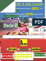 ANDREA MANTAÑO. 16 DIAS DE SANTIDAD -