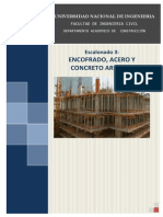 Escalonado 3 - Encofrado, Acero y Concreto Armado