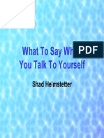 What to Say When You Talk to Yourself Ppt