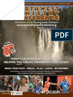 Northwest Ministry Conference 2014 Program