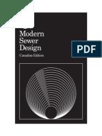 Modern Sewer Design 1996