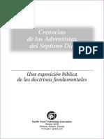 Libro-Creencias de Los Adventistas Del Septimo Dia