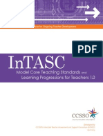 2013 intasc learning progressions for teachers