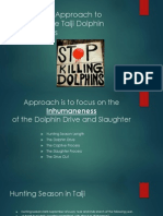 Strategic Approach to Ending the Taiji Dolphin Slaughters 1-23-14