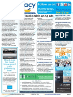 Pharmacy Daily for Fri 24 Jan 2014 - CHF backpedals on S3 ads, PSA Gold Questionnaire up, More vitamin studies, Events Calendar and much more