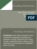 Avoiding Wordiness