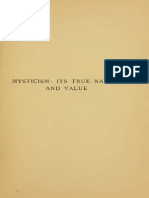 Mysticism - With a Translation of the Mystical Theology of Dionysius, And of the Letters to Caius and Dorotheus - Sharpe (1910)