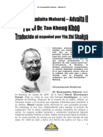 Sri Nisargadatta Maharaj Advaita II Spanish