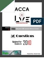 www.acca-live.com | Free CBE ACCA F3 Financial Accounting Mock Exam