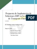 Propuesta de Implantación de Soluciones ERP en la empresa de Transporte Chiclayo