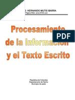 Procesamiento de la información y el texto escrito
