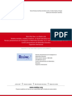 Modelos mentales y modelos numéricos- un estudio descriptivo en la enseñanza media