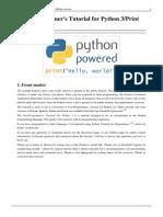 non-programmer-s-tutorial-for-python-3 print-version