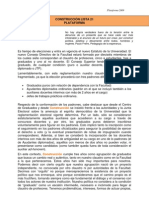 Plataforma Construccion 2009
