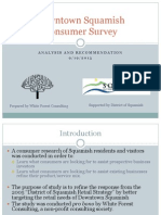 District of Squamish Recommendations
