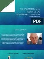 PSI Geert Hofstede y su teoría de las dimensiones