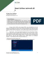 Ilmu Komputer Cara Membuat Ad Hoc Network Di Windows 8
