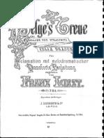 Liszt - S686 Helges Treue After Draeseke