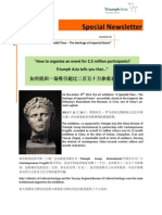 Newsletter Imperial Rome_January 2014