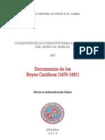 Documentos de Los Reyes Catolicos 14751491 0