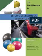 'Estudio Del Rebote de Diferentes Pelotas' (Proyecto Integrado, Curso 2010-2011)