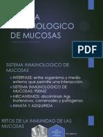 Sistema Inmunologico de Mucosas