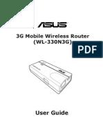 Asus WL 330N3G Manual