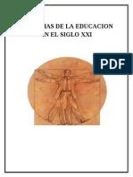 PROBLMAS DE LA EDUCACION  EN EL SIGLO XXI.doc