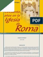 50 años iglesia de roma