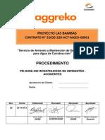 Pb-qhse-022 Procedimiento de Investigacion de Incidentes - Accidentes