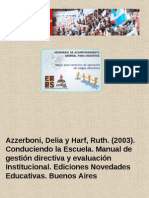 Azzerboni Delia y Harf Ruth. 2003.